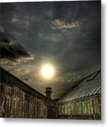 Eastern State Penitentiary Sunset Metal Print by Kim Zier