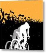 Eat Sleep Ride Repeat Metal Print by Sassan Filsoof