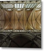 Ecclesiastical Ceiling No. 1 Metal Print by Joe Bonita