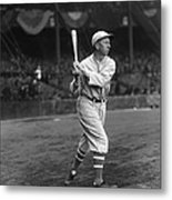 Eddie Collins Sr. Swing Pre Game Metal Print by Retro Images Archive