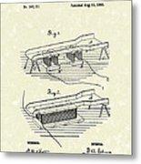 Edison Ore Separator 1882 Patent Art Metal Print by Prior Art Design