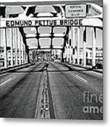 Edmund Pettus Bridge Metal Print by Danny Hooks