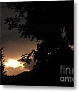 Eerie Sky After The Storm Metal Print by Gail Matthews