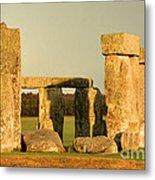 Eerie Stonehenge 4 Metal Print by Deborah Smolinske