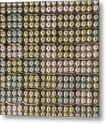 Egg Box Soundproofing Top Metal Print by Allan Swart