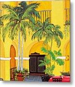 El Convento In Old San Juan Metal Print by Gloria E Barreto-Rodriguez
