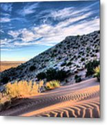 El Paso Blue Metal Print by JC Findley