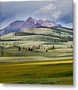 Electric Peak Metal Print by Bill Gallagher