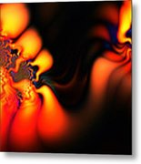 Electric Wave Metal Print by Ian Mitchell