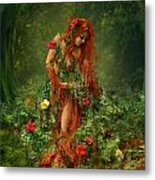Elements - Earth Metal Print by Cassiopeia Art