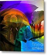 Elephant Walk Metal Print by Sydne Archambault
