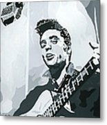 Elvis At Sun Metal Print by Suzanne Gee