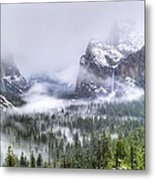 Enchanted Valley Metal Print by Bill Gallagher
