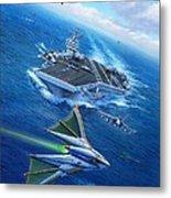 Encountering Atlantis Metal Print by Stu Shepherd