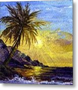 End Of The Day Metal Print by Darice Machel McGuire