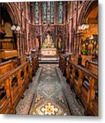 English Church 2 Metal Print by Adrian Evans