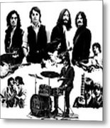Epic The Beatles Metal Print by Iconic Images Art Gallery David Pucciarelli