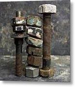 Equipment Metal Print by Bernard Jaubert