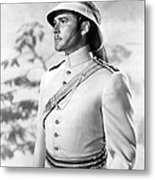 Errol Flynn In The Charge Of The Light Brigade Metal Print by Silver Screen