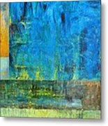 Essence Of Blue Metal Print by Michelle Calkins