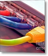Ethernet Metal Print by Olivier Le Queinec
