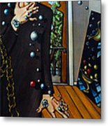 Existential Thought Metal Print by Valerie Vescovi