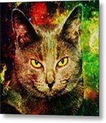 Eye Contact Metal Print by Anastasiya Malakhova