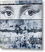 Eyes On Blue Metal Print by Carol Leigh