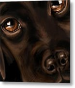 Eyes Metal Print by Veronica Minozzi