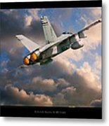 Fa-18d Hornet Metal Print by Larry McManus