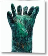 Fabulas Malachite Hand Metal Print by Mark M  Mellon