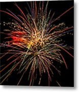 Fabulous Fourth Metal Print by Shirley Tinkham