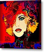 Face 14 Metal Print by Natalie Holland