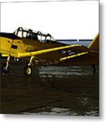Fairchild Pt-26 Metal Print by Steven  Digman