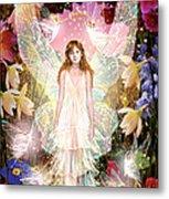 Fairy Crowning Metal Print by Garry Walton
