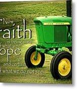 Faith And Hope Metal Print by Linda Fowler