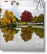 Fall Fort Collins Metal Print by Baywest Imaging