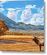 Fall In Paradise Valley Metal Print by Paul Krapf
