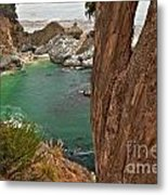 Falling Into The Bay Metal Print by Adam Jewell