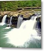 Falling Waters Falls 4 Metal Print by Marty Koch