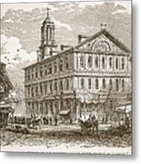 Faneuil Hall, Boston, Which Webster Metal Print by American School