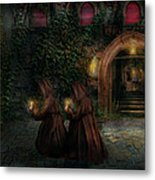 Fantasy - Into The Night Metal Print by Mike Savad