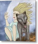 Farewell The Journey Begins Metal Print by Linda Marcille