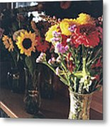 Farm Stand Metal Print by Caitlyn  Grasso