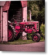 Farmall 200 Metal Print by Robert Geary
