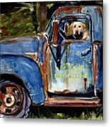 Farmhand Metal Print by Molly Poole