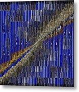 Fault Line Blues Metal Print by Tim Allen