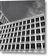 Fbi Building Side View Metal Print by Olivier Le Queinec