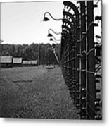 Fence Of Death Metal Print by Mountain Dreams