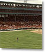 Fenway Park - Early Version Metal Print by David Bearden